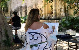 Karin Laing - Painting Retreat Sicily - The secret longing of my soul