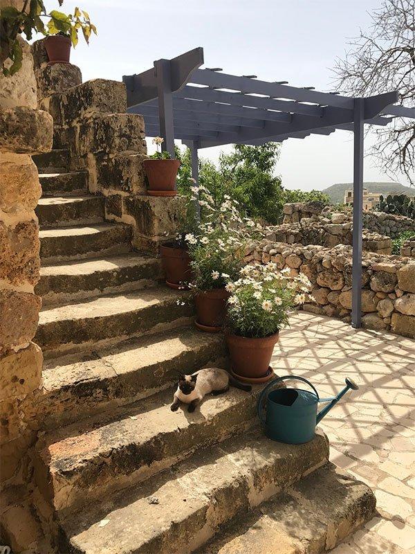 L'Gharix Temple Retreat Steps