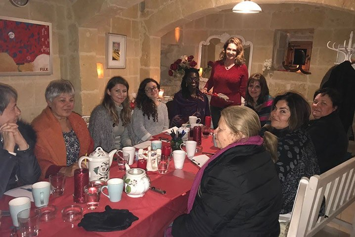 Red Tent Gozo and Malta - Red Tent Women's Circle - Women's support group