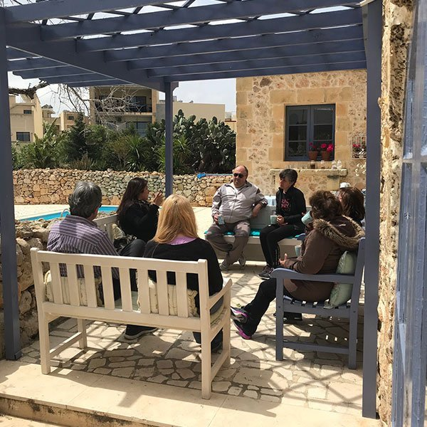 Love to Be Loved workshop - couples retreat at L'Gharix Temple Retreat Gozo