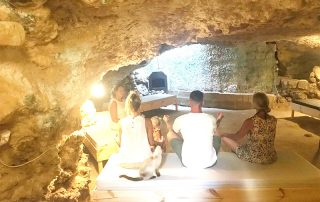 Group Guided Meditation at L'Gharix Temple Retreat, Gozo
