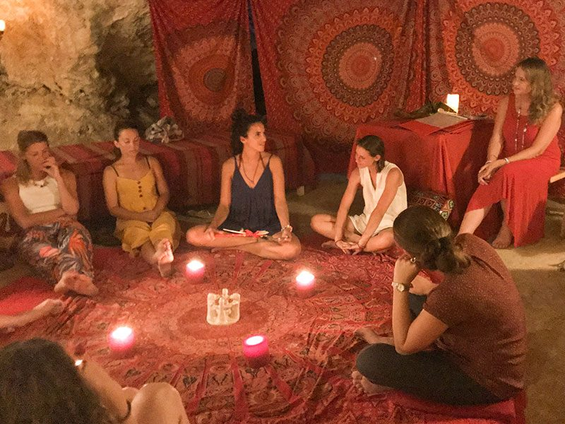 Red Tent Women's Circle - Meeting place for women in Malta and Gozo at L'Gharix Temple Retreat