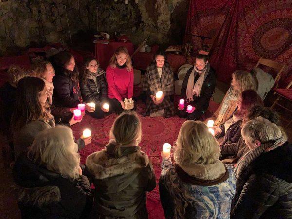 Red Tent Women's Circle at L'Gharix Temple Retreat