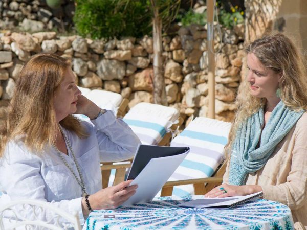 One-on-One session with Karin Laing at L'Gharix Temple Retreat, Gozo