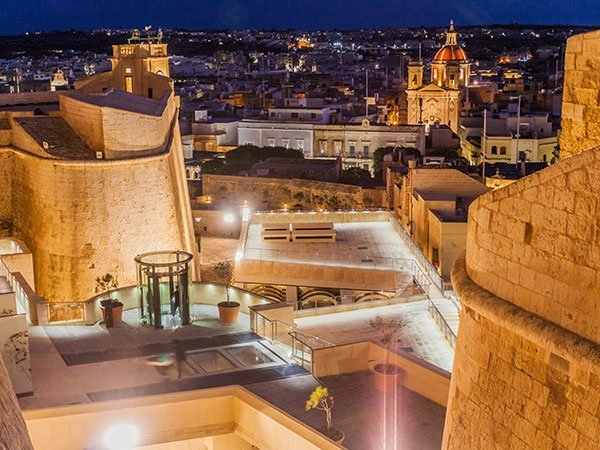 The Citadella - ancient citadel in Victoria, Gozo