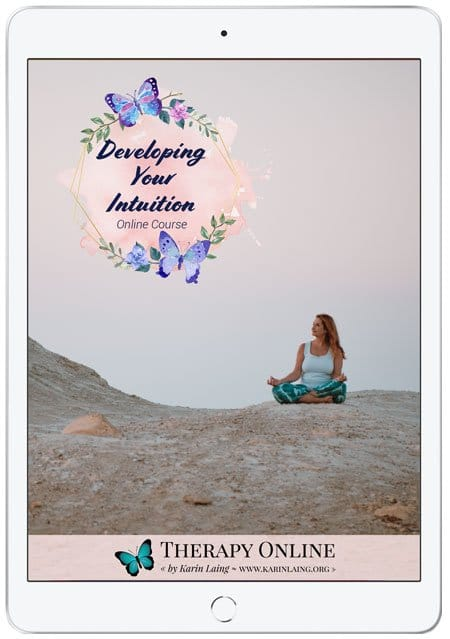 Developing Your Intuition online course by Karin Laing - connect to your intuition