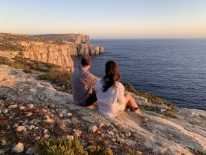 Counselling therapy session at L'Gharix - healing retreats Malta and Gozo