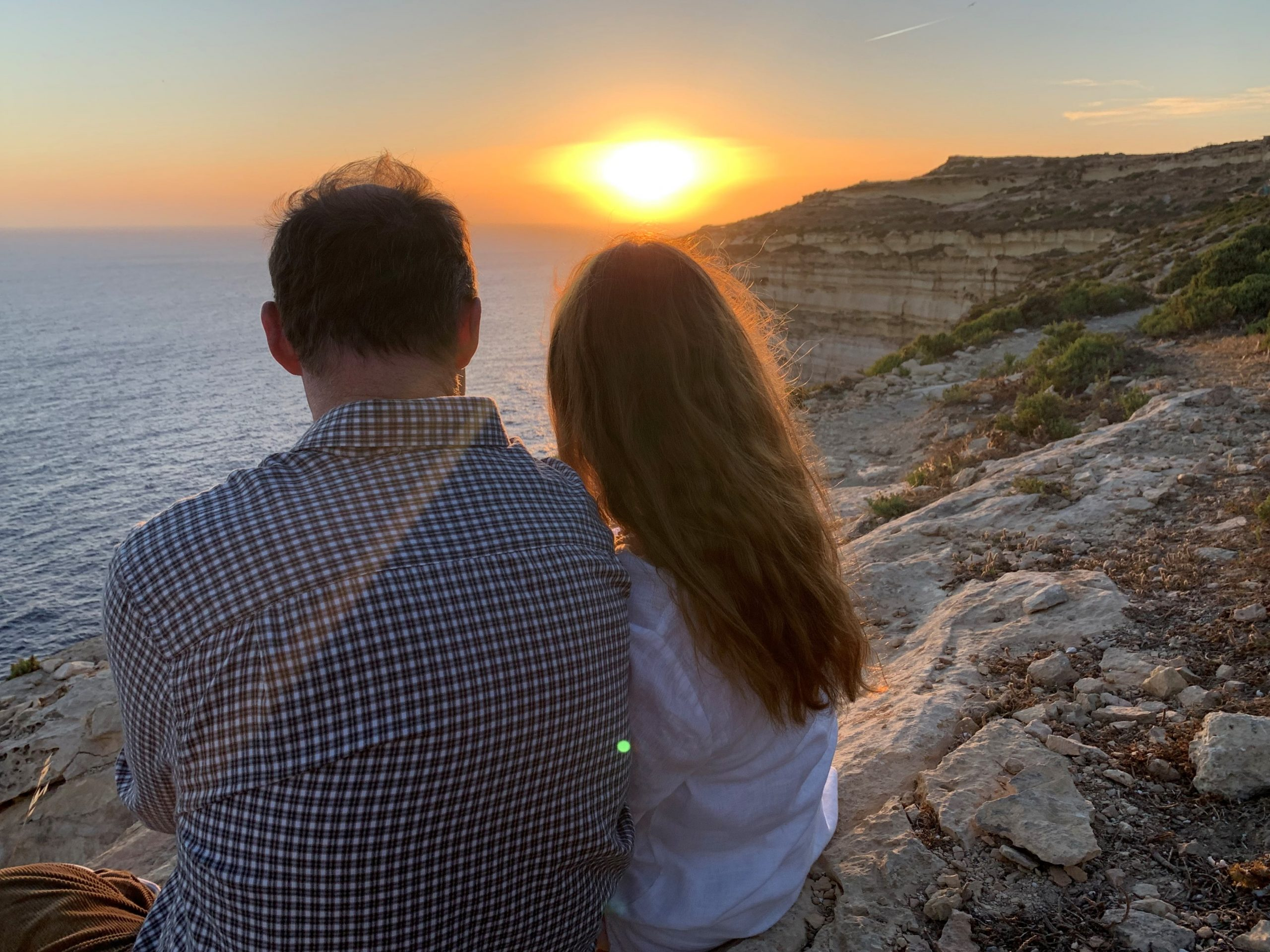 Beautiful beach walks at inner healing retreat in Gozo